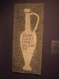 Garum Mosaik Pompeji