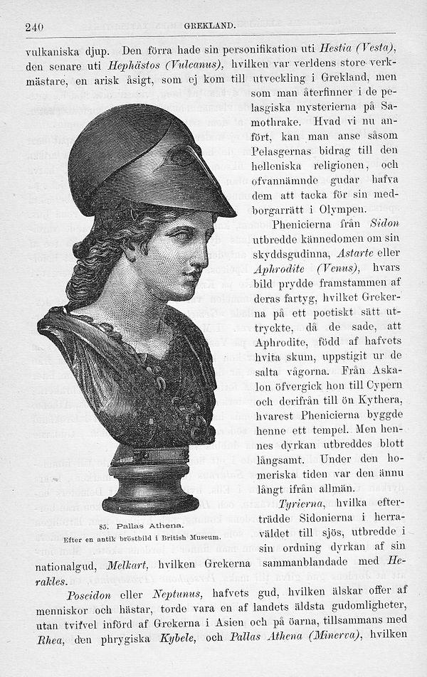 Pallas Athena väntar på din insats