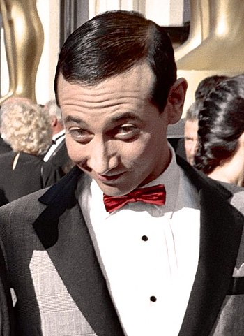 "Photo of actor Paul Reubens as ""Pee-Wee H..."