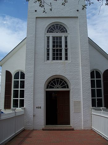 Pensacola, Florida: Old Christ Church.