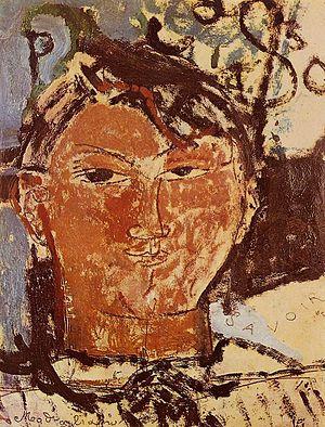 English: Portrait of Pablo Picasso Magyar: Pab...