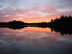 Pose Lake in the Boundary Waters Canoe Area Wi...