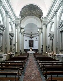 Interno Della Santa Casa Di Loreto
