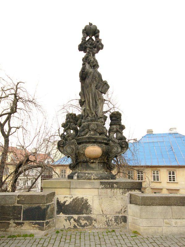 Statue Of Saint Cajetan Charles Bridge - Wikipedia