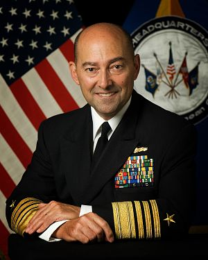 ADM James G. Stavridis, Commander EUCOM and SACEUR