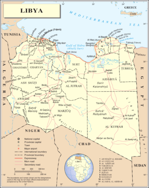 An enlargeable map of the Great Socialist Peop...