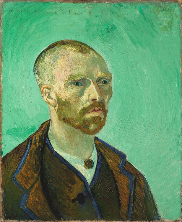 Van Gogh self-portrait dedicated to Gauguin