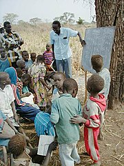 School in Sudan, 2002