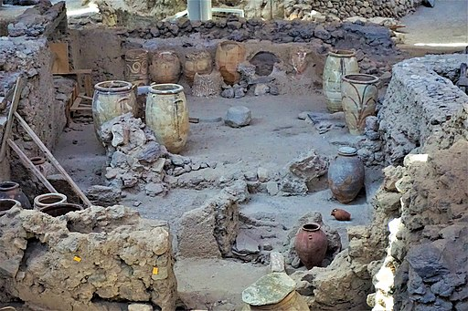 Akrotiri Archaeological Site in Santorini by Joy of Museums - 5