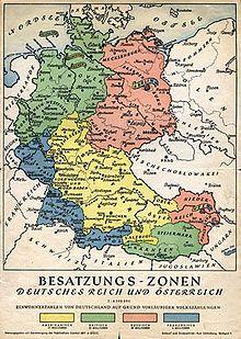 Occupation Française En Allemagne Après 1945 : occupation, française, allemagne, après, Occupation, L'Allemagne, Après, Seconde, Guerre, Mondiale, Wikimonde