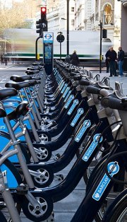 Boris Bikes - geograph.org.uk - 2169156