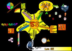 Carte 5S