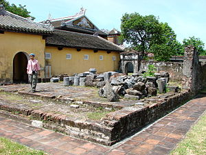 Hue, Vietnam - The Citadel - Royal Enclosure -...