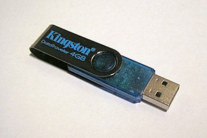 Kingston usb flash drive (4GB)
