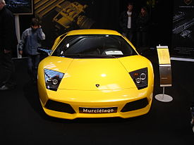 Lamborghini Murcielago LP640, actual modelo tope de gama de la firma.