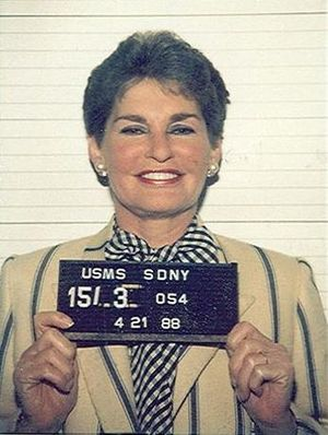 English: Mug shot of Leona Helmsley.