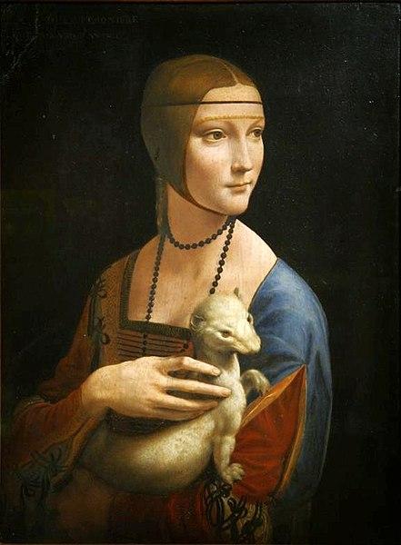 File:Leonardo da Vinci - Lady with an Ermine.jpg