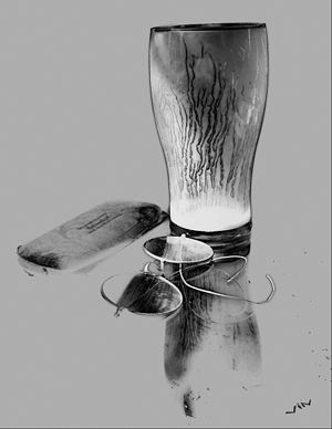 Losing Eyesight. Surrealism. Photograph.