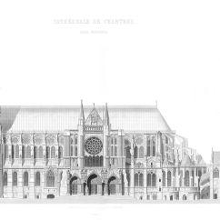 Diagram Of Gothic Church 2016 Dodge Ram 1500 Radio Wiring Chartresin Katedraali  Wikipedia
