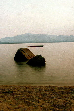 East Lake Tahoe Nv; 1 sec exposure