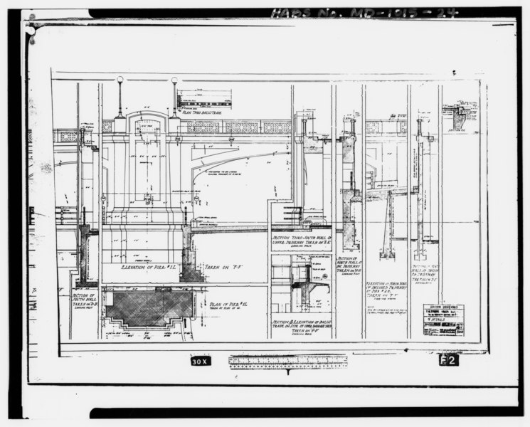 File:Photocopy of microprint of drawing (microfilm in