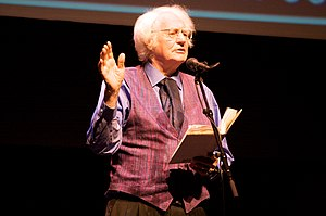 Robert Bly at the Poetry Out Loud Minnesota Fi...