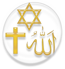 Symbols of Abrahamic Religions