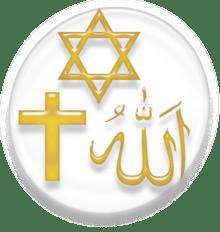 Symbols of Abrahamic Religions