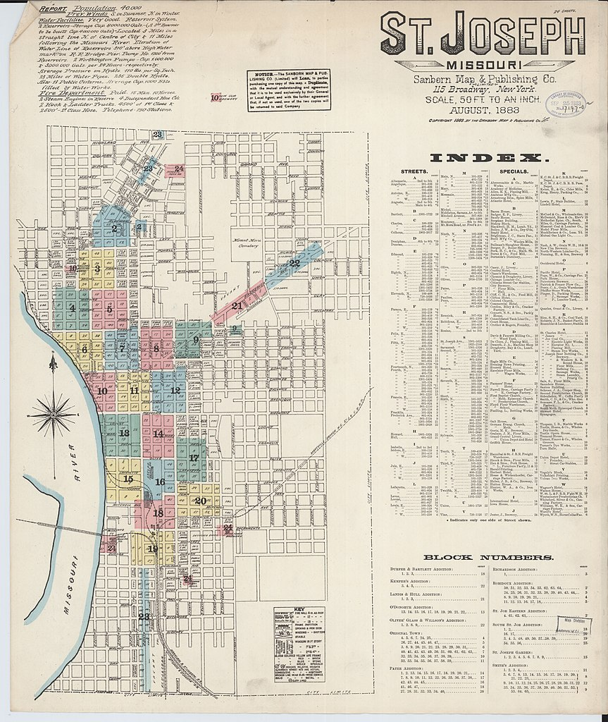 File Sanborn Fire Insurance Map From Saint Joseph