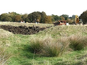 English: Site of Bolingbroke Castle and Rout Y...