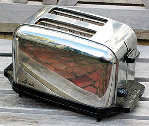 This is a two slice toaster.