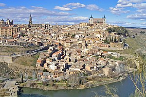 English: General view of Toledo (Province of T...