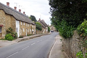 Abbotsbury village.
