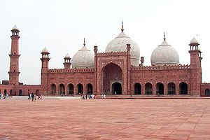 A 4 Megapixel picture of Badshahi Mosque, Laho...