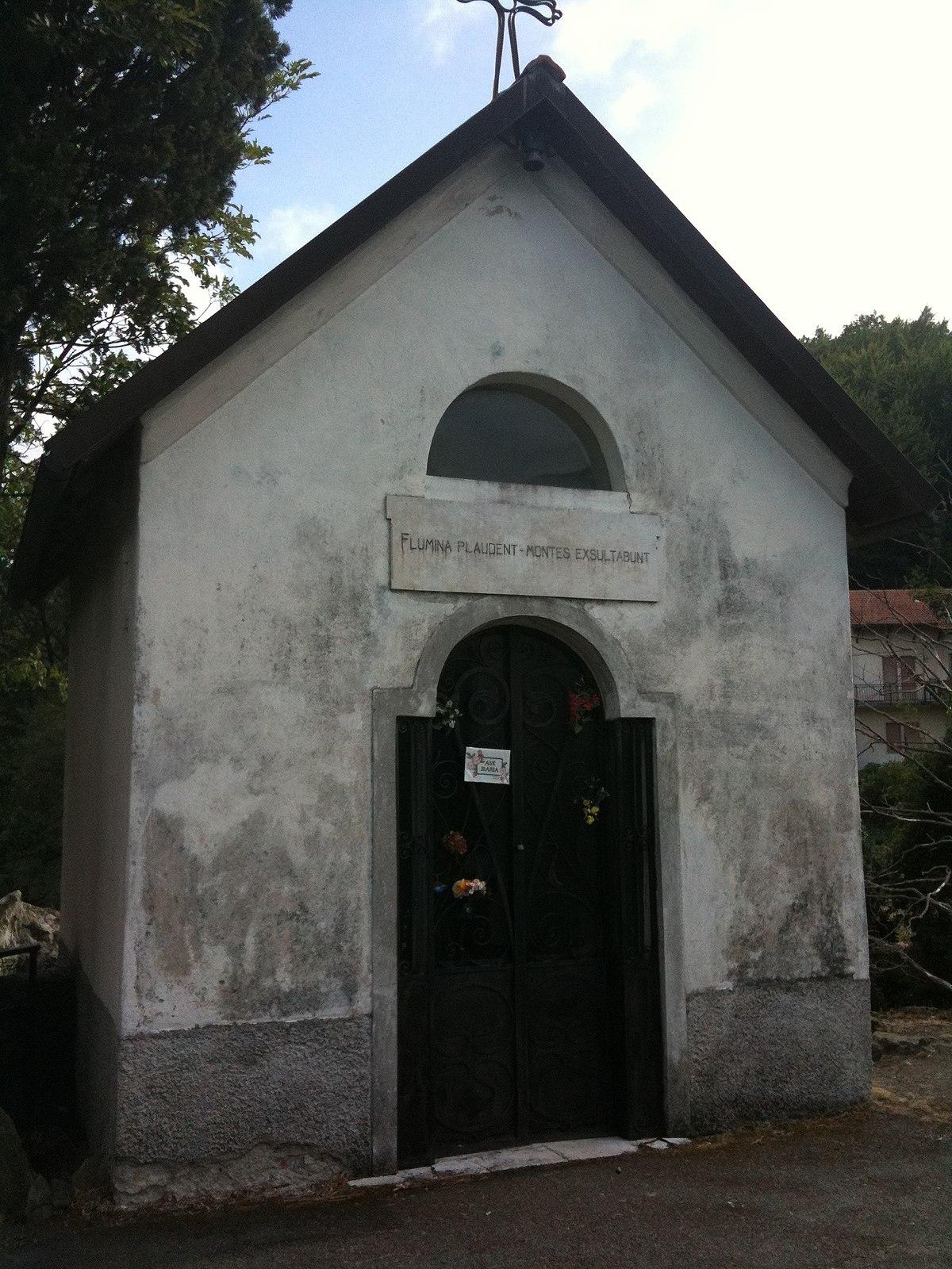 Cappella della Madonna di Lourdes  Wikipedia