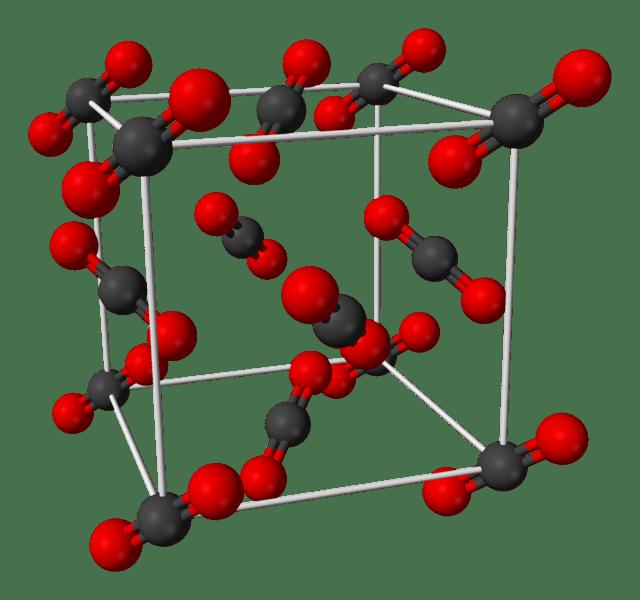 Carbon-dioxide-unit-cell-3D-balls