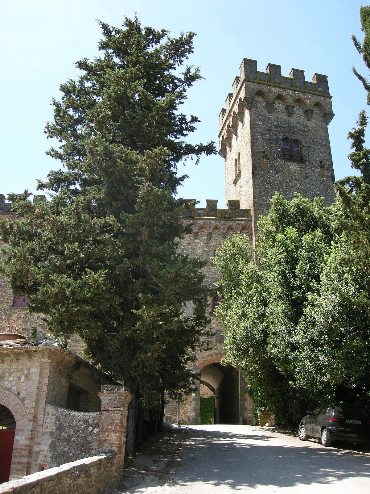 Castello di Poppiano  Wikipedia
