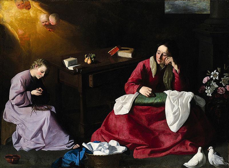 File:Cristo y la Virgen en Nazareth.jpg