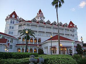 Main Building of Disney's Grand Floridian Reso...