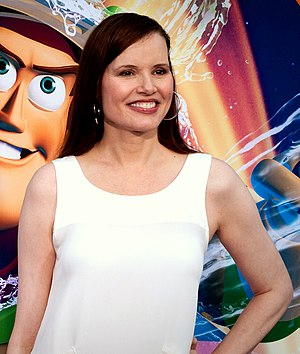 English: Geena Davis at the World of Color pre...