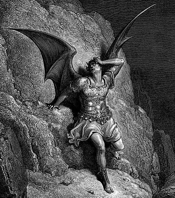 Gustave Doré, Depiction of Satan, the antagoni...