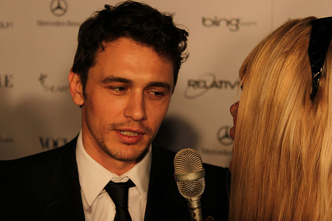 English: Interview with Oscar nominee James Franco