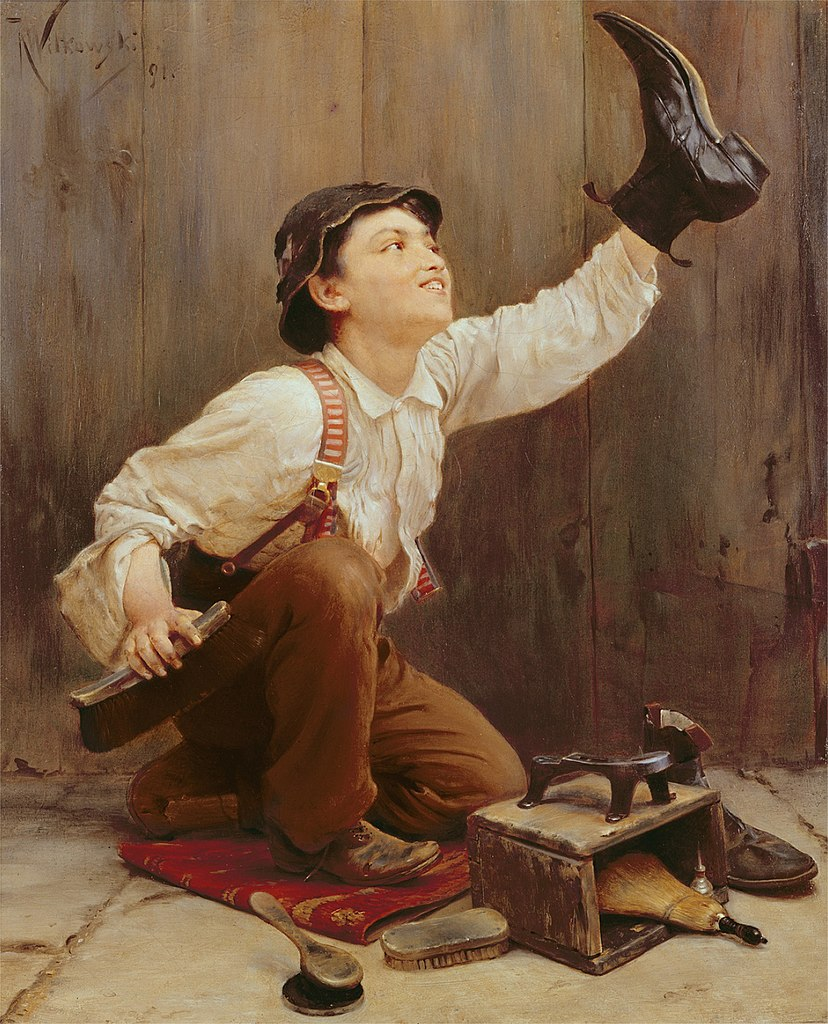 FileKarl Witkowski  Shoeshine Boy 1891jpg  Wikimedia