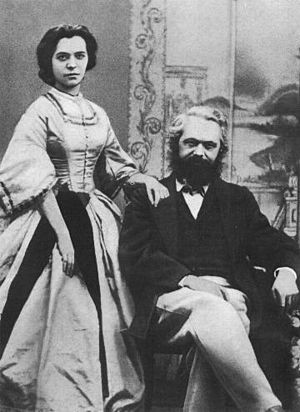 Karl & his daughter Jenny Marx