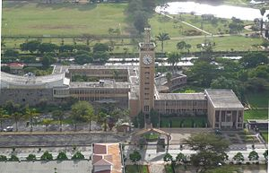English: Kenyan parliamentarian building, Nairobi