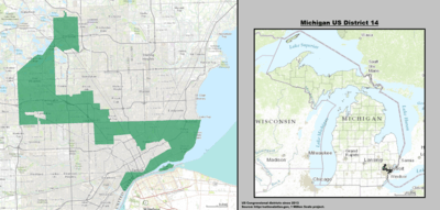 Michigan US Congressional District 14 (since 2013).tif