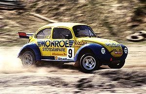 English: Swedish Rallycross driver Mikael Nord...