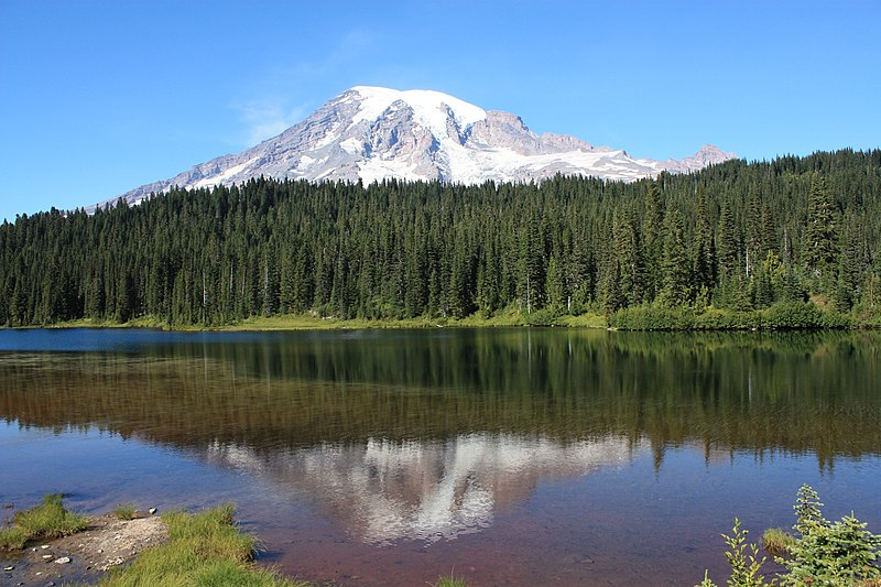 File:Mt. Rainer-Reflection Lake.JPG