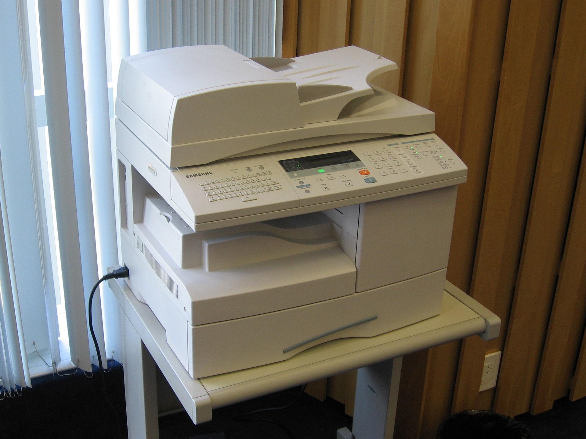 Multifunction printer  Wikipedia