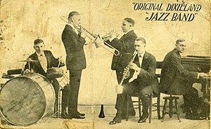 Original Dixieland Jazz Band. Scanned by Infro...